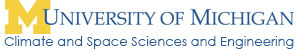Department of Climate & Space Sciences & Engineering, University of Michigan
